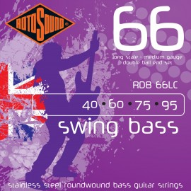 Rotosound RDB 66LC Double Ball End, Medium, Long Scale, 40 - 95