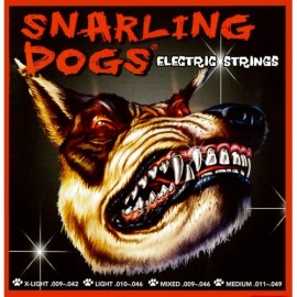 Snarling Dogs 11-49 Medium Nickel Round Wound Electric Guitar Strings