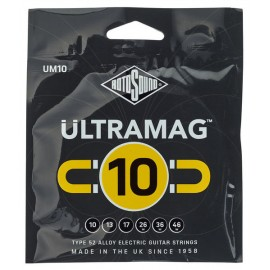 Rotosound Ultramag 10-46 Alloy 52 Electric Guitar Strings UM10