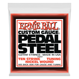 Ernie Ball 10 String E-9 Tuning 13-38  Nickel Wound Pedal Steel Strings 2502