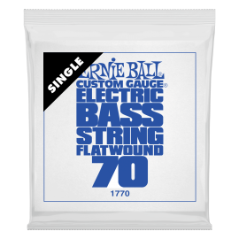 Ernie Ball Flatwound .070 Single Long Scale Electric Bass String